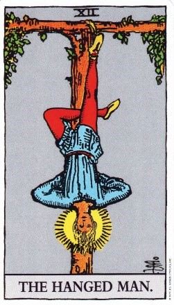 Psychic Scoop-the hanged man