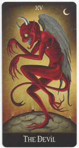 deviant moon tarot devil card