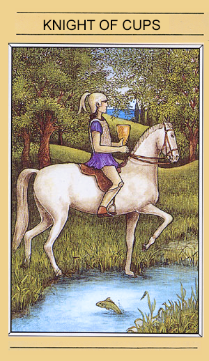 Tarot Card of the Week: Knight of Cups ·