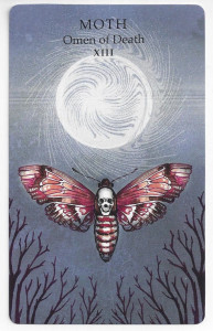 the animal wisdom tarot death card