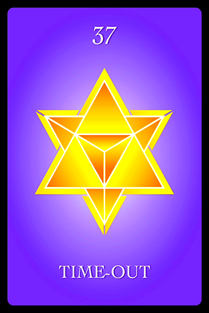 Numerology Card of the Week -- Time-Out ·